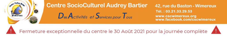 Centre SocioCulturel Audrey Bartier - Wimereux